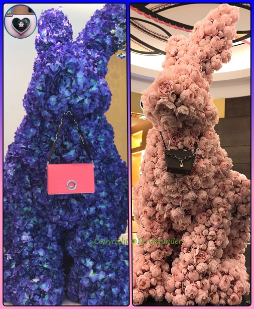 Blue Bunny Vice Pink Bunny